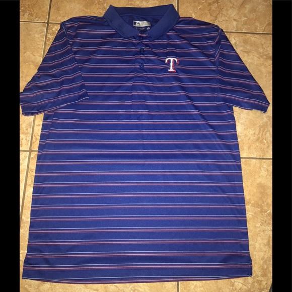 a1eaa276 Genuine Merchandise Texas Rangers Polo Shirt